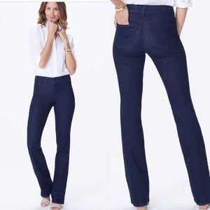 NYDJ dark wash jeans, size 10P